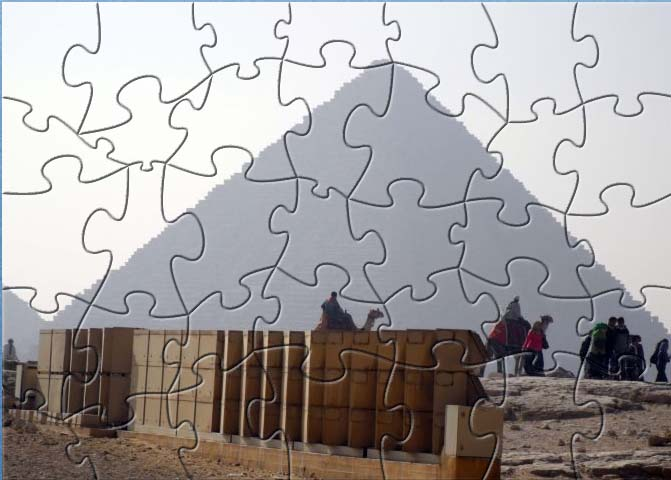 LLD Egyptian Pyramid Puzzle